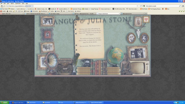 Screenshot of angusandjuliastone.com.au