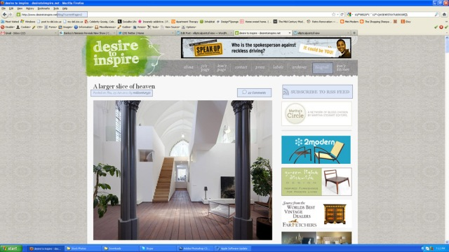 screenshot of desiretoinspire.net