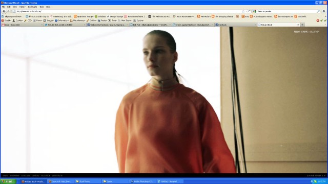 Screen shot of Richard Nicolls website