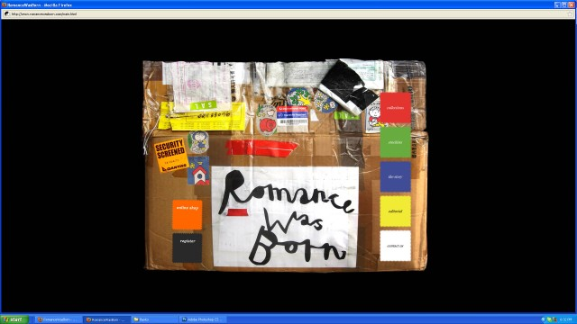 Romance was Born - main screen shot