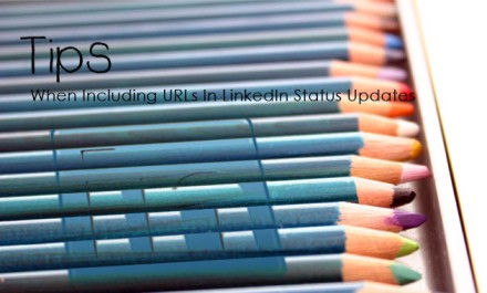 Tip: When Including URLs in LinkedIn Status Updates