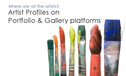 Artist Profiles on Portfolio & Gallery platforms
