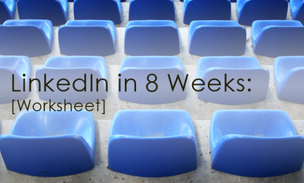 Resource - LinkedIn In 8 Weeks Workshee